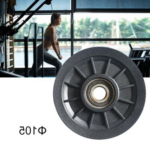 70/90/105mm Fitness Gym Bearing Pulley Wheel Cable Pulley Wh
