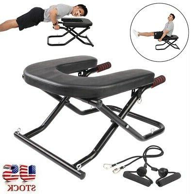 workout bench yoga inversion chair headstand exercise