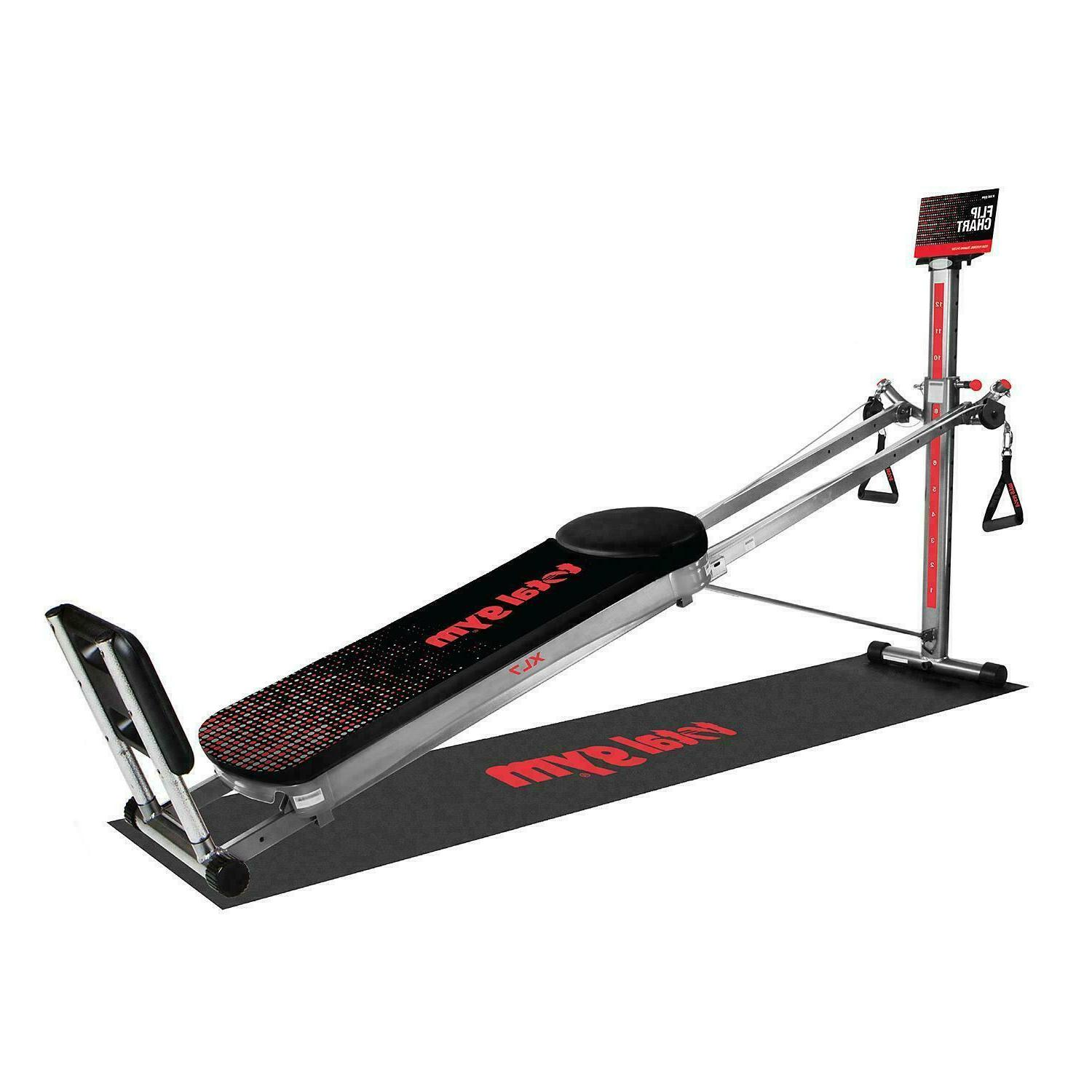 Total Gym XL7 Home Gym with Workout DVDs - LOCAL PICK UP ONL