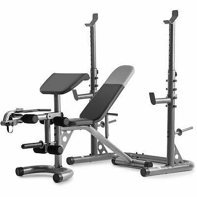 xrs 20 olympic workout bench with independent