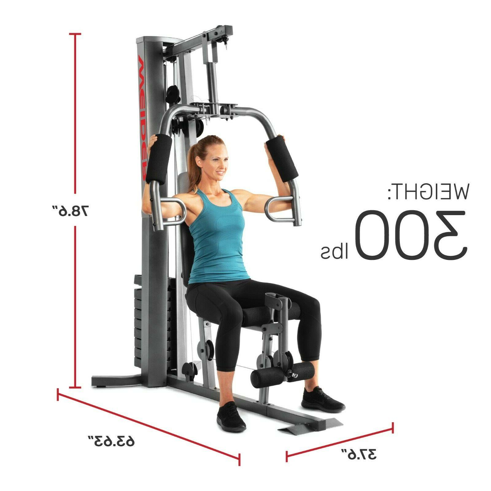WEIDER XRS 50 Gym Fitness Machine Exercise Workout NEW