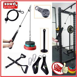 Lat Pull Down Home Workout Cable Pulley Multi Gym Equipment