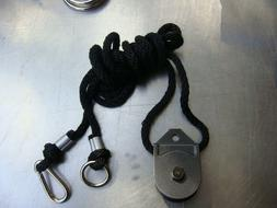 """Total Gym"" Leg Pulley Rope & Pulley Pilates"