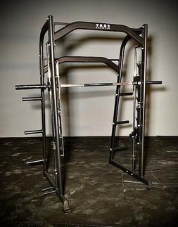 Fray Fitness Linear Bearing Smith Machine Exercise Home Gym
