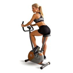 Marcy Magnetic Upright Exercise Cycle with Progress Tracking