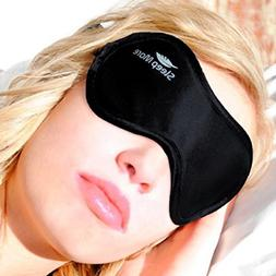Premium Quality Sleep Mask, sleep eye mask with FREE earplug