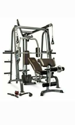 Marcy md-9010G Diamond Elite Home Gym smith machine cage