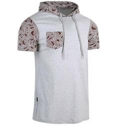 Mens Cotton T-Shirt Soft Athletic Gym Regular Fit Tops Class