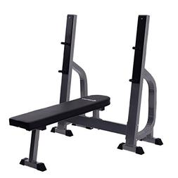 COSTWAY Multi-Function Weight Lifting Flat Bench Fitness Wor