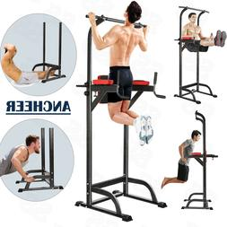 """Multi Function Pull Up Dip Station Gym Bar Power Tower """"ANCH"""