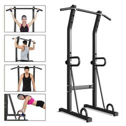 Multifunctional Pull Up Bar Standing Power Tower Dip Station