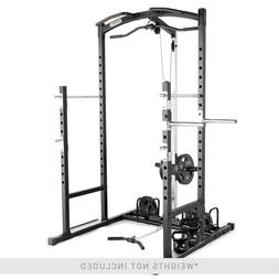 Marcy Power Rack Home Gym Cage System Multiple Workout Stati