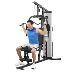 Marcy MWM-988 Home Gym System 150lb Weight Stack Machine Tot