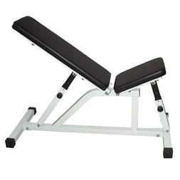 New Adjustable 8-Position Weight Bench Incline Decline Home