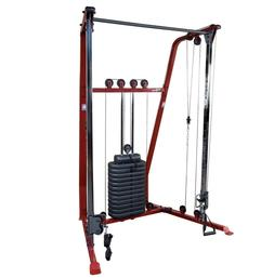 New BFFT10R Best Fitness Functional Trainer - Red - Body Sol