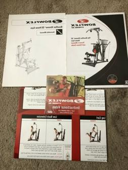 NEW Bowflex Extreme SE Manual , Poster, And DVD