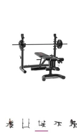 NEW Weider Golds Gym XRS 20 Olympic Workout Bench  w/ Indepe
