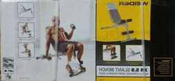 NEW in Box - Weider XR 5.9 Adjustable Slant Workout Bench wi