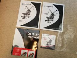 NEW Bowflex Revolution Owner's & Assembly Manual, Poster, &