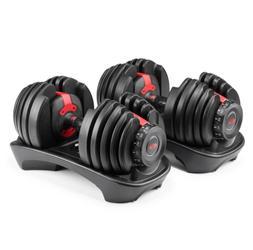 New Bowflex SelectTech 552 Adjustable Dumbbells  Set Of 2 Du
