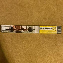 NEW Golds Gym Weightlifting Bar Strength Training Home Gym E