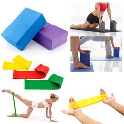 New Yoga Foaming Foam Brick Block Home Health Gym Exercise F