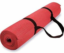 Non-slip Exercise Yoga Mat for Fitness Home Gym Workout with