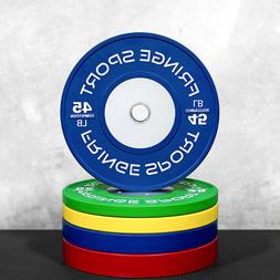 Olympic Competition Bumper Plate Pairs in KG and LB / Weight