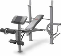 MARCY Olympic Full Body Utility Weight Bench for Home Gym He