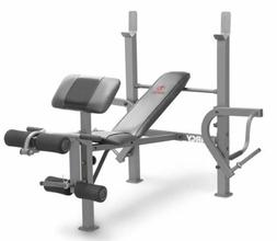 MARCY Olympic Full Body Weight Bench for Home Gym Heavy Duty