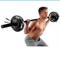 Gold's Gym 110 lb Olympic Weight Set