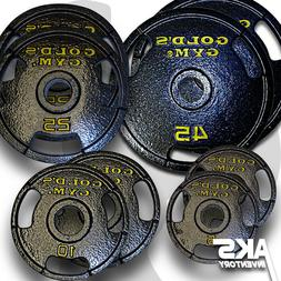 "Olympic Weight Plates PAIRS 2"" Home Gym Fitness Exercise 3-H"