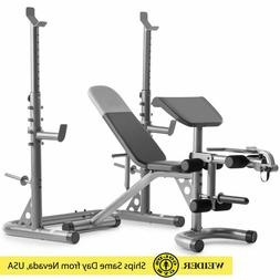 Olympic Workout Bench + Squat Rack   XRS 20 Gold's Gym & Wei
