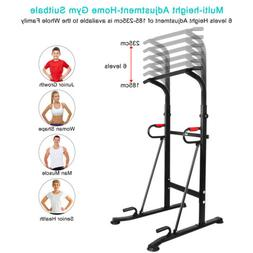 OneTwoFit Power Tower Dip Station Pull Push Chin Up Bar Gym