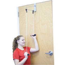 CanDo Over Door Shoulder Pulley Double with Bracket