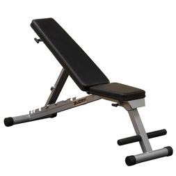 Powerline by Body-Solid Flat Incline Decline Folding Multi-B