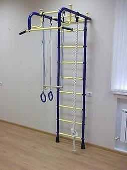 Pioneer-1 Children's Indoor Home Gym Swedish wall with Acces