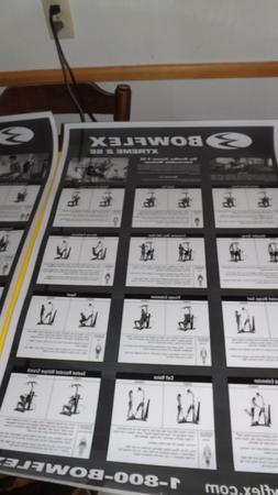 BOWFLEX POSTER XTREME''2SE,XTREME''2,XTREME''SE LAMINATED/SI