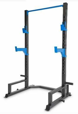 Power Cage Rack Home Gym Workout Weight Lifting Squat Streng