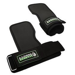 Gorilla Fitness Power Gripz - Adjustable weight lifting stra
