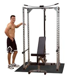 Powerline Power Rack PPR200X Package, Bench, Lat, Mat Home G