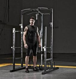 Marcy Power Rack Strength Home and Gym Workout Machine
