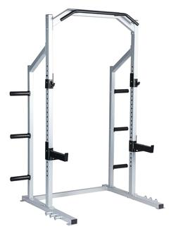 Power Rack Weight Lifting Squat Stand Strength Training Home