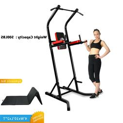 Power Tower Dip Station Home Gyms Pull Up Chin Bar Fitness E