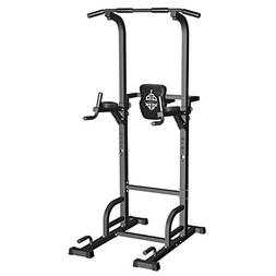 Power Tower Dip Station Pull Up Bar For Home Gym Strength Tr