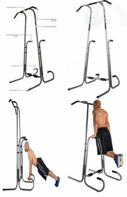Stamina POWER TOWER Fitness Gym Chin Pull Up Dip Exercise Pu