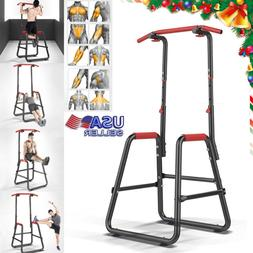 Power Tower Pro Home Gym Workout Dip Station Standard Chin P