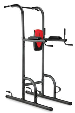 Weider Power Tower w/ Four Workout Stations Push Pull Up AB
