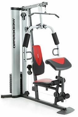 Weider Pro 6900 HOME GYM Training Fitness w/ 6 Workout Stati