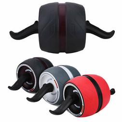 Pro Ab Roller Machine Fitness Exerciser Wheel Workout Abdomi